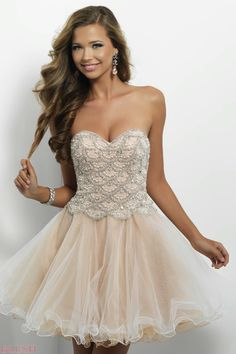 Homecoming DressesSweet 16 Dresses by BLUSH for Alexia9650Feminine Fun!