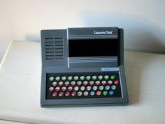Vintage Tron Era Lap Top Computer