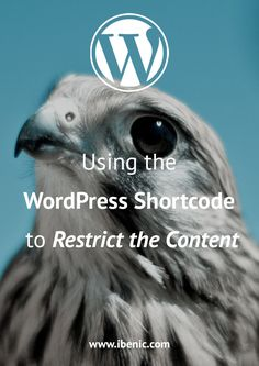 Learn how to use the WordPress Shortcode to hide the content from non-logged in users or users with different user roles. Learn Wordpress, Wordpress Plugins, About Me Blog, Self Publishing, How To Start A Blog, Blogging, Social Media, Posts, Content