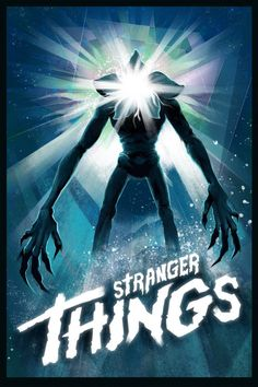 John Carpenter's The Thing was one of the many movies that inspired Stranger Things, so much so that its poster is even featured in a character's bedroom. Artist Gibbs Rainock made a poster for. Graffiti, Indie, Entertainment, Lettering, Horror Movies, Cult Movies, Horror Art, Favorite Tv Shows, Favorite Things
