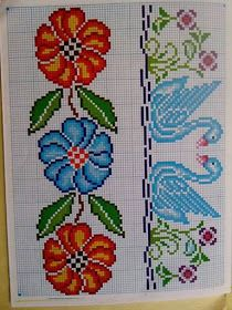 quilting like crazy Butterfly Cross Stitch, Cross Stitch Rose, Cross Stitch Borders, Cross Stitch Flowers, Cross Stitching, Cross Stitch Patterns, Beaded Embroidery, Cross Stitch Embroidery, Hand Embroidery