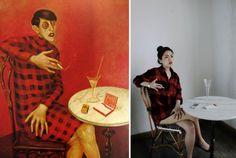 Pinturas clásicas recreadas en fotografías casuales « Pijamasurf - Noticias e Información alternativa