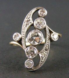 ring - vintage Edwardian. OMG Someone buy me this! lol:)