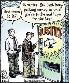 Pro se legal representation in the United States Law School Humor, School Memes, Lawyer Humor, Funny Lawyer Quotes, Bizarro Comic, Legal Humor, Comics Kingdom, Satire, Comic Strips