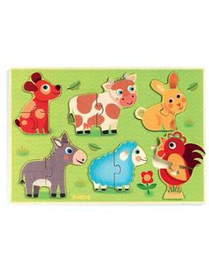 Holz-Puzzle COUCOU COW 13-teilig in bunt Puzzle Djeco, Arty Toys, Kids Rugs, Home Decor, Baby Pets, Cow, Kids, Decoration Home, Kid Friendly Rugs