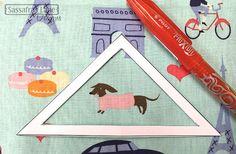 How to Fussy Cut Fabric - Sassafras Lane Designs