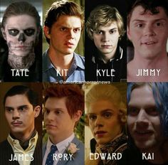 Updated: 8 Beautiful Shades of Evan in AHS. Who's your favorite? Follow rickysturn/evan-peters