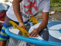 Preparando una de nuestras nuevas tablas. #sup #surf #kite #kazuma #kazumaespaña #kazumaES