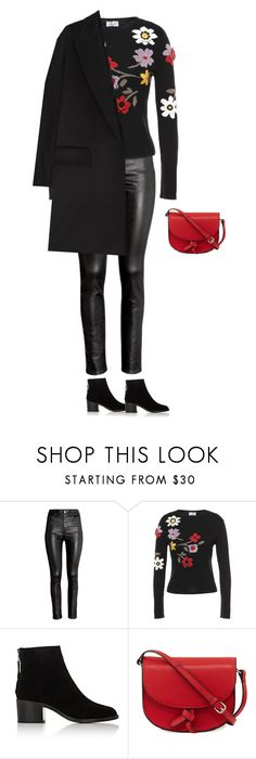 """""""Untitled #2781"""" by yuenchewwan ❤ liked on Polyvore featuring H&M, RED Valentino, rag & bone, KC Jagger and MaxMara"""