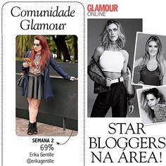 OMG! Eu tô na @glamourbrasil de março! ❤️   Valeu pessoal pela votação! Quem tiver a revista me recorta pra espantar a zika! #ixigirl   a foto é do @leofaria