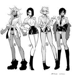 Female Character Design, Character Design References, Character Drawing, Character Design Inspiration, Character Concept, Thicc Anime, Anime Comics, Manga Girl, Anime Art Girl