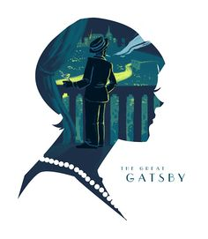 #TheGreatGatsby Fan Art Challenge entry by Tumblr user colleeb.