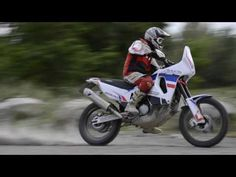 AFRICA TWIN RD 04 IVAN REPLICA BY BOANO RACE PARTS - YouTube