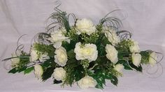 wedding flowers top table decoration ivory roses | eBay