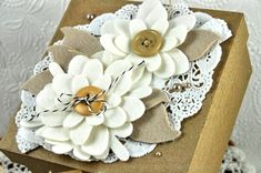 It's all in the presentation.  I LOVE pretty things & love to decorate my gift packages & this is one I want to do....love it!!!