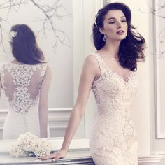 Style * 1565 * » Spring 2014 Bridal Collection » by Kenneth Winston (catalogue pic)