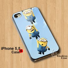 Amazing iPhone 5,5S,5C Case Funny Despicable Me 2 Minions