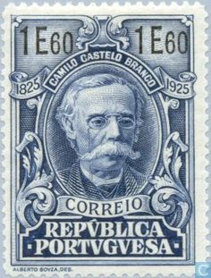 Portugal [PRT] - Castelo-Branco, Camillo 1925 History Of Portugal, Algarve, Book Wrap, Stamp Collecting, Postage Stamps, Azores, Map, Icons, Posters