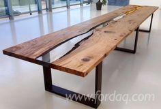 Tavoli in legno grezzo: i prezzi dei modelli di design più belli ...