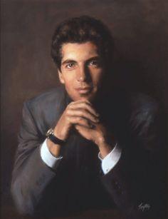 Of John F. Kennedy Jr. Painting - Portrait Of John F. Kennedy Jr ...