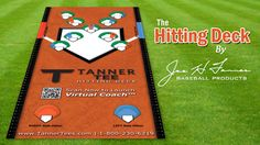 Hitting Deck - Contact Zone Baseball Training Aid - Tanner Baseball Products and Hitting Aids