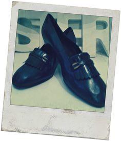 Damen-Schuhe vintage