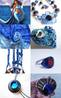 ** Mermaids on Earth ** by Anna Margaritou on Etsy--Pinned with TreasuryPin.com