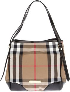 burberry canterbury tote on sale | Burberry Small 'Canterbury' Tote in Brown (black)