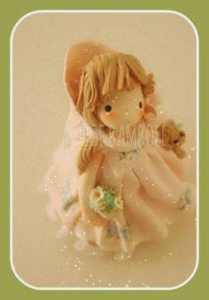 Muñecas dulces: tierna rosa