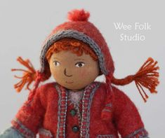 Amazing Salley Mavor - - she inspires me with her felt and embroidery work - - Adorable