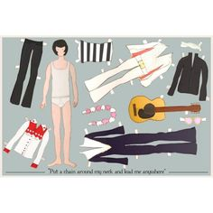 (⑅ ॣ•͈ᴗ•͈ ॣ)                                                            ✄Elvis paperdoll by claudiavarosio on etsy