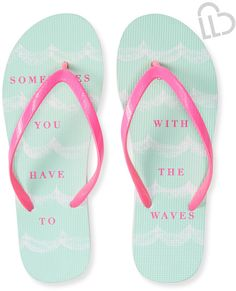 e977410bc LLD Go With The Waves Flip-Flop