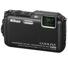 NIKON COOLPIX AW120 - NERO - FOTOCAMERA DIGITALE  - Dotata del WiFi e di un chip GPS, questa fotocamera dispone di un sensore BSI-CMOS da 16 megapixelper realizzare delle immagini nitide e ricche di contrasti, di un obiettivo luminoso da f/2.8 e di una coperturagrandangolare da 24 mm. #http://www.pinterest.com/cico80/wwwmegaplanetit/