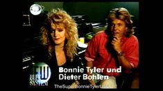 Bonnie Tyler and Dieter Bohlen in Studio Interview (RTL LOWEN 1993) HD R... Interview, Bonnie Tyler, Studio, Youtube, Modern, Style, Swag, Trendy Tree, Studios