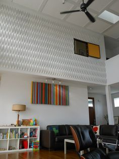 Acoustic Weave wall Tiles residential