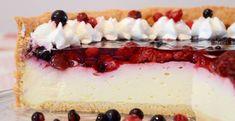 Torta s lesným ovocím - Receptik.sk