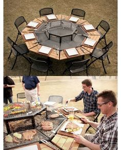 "18 Likes, 1 Comments - The Roughneck Magazine (@theroughneckmag) on Instagram: ""How amazing is this #BBQ table? Tag your friends who would love this!  #BBQSeason #ABOil…"""