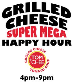 A gourmet grilled cheese+tomato soup shop experience, located in downtown Cincinnati and Newport, Kentucky - Tom + Chee