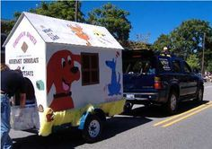 Parade Float ideas on Pinterest | Parade Floats, Dog Parties and ...