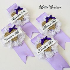 Bride to Be Badge Mother of the Bride by lolliecouture on Etsy