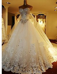 A line Sweetheart Floor length Organza Wedding Dresses. Get unbelievable discounts up to 70% Off at Light in the box using Coupons.