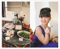Charcuterie station bridal shower. Styling by Rebekah Carey McNall of @aandbcreative photography by @delbarr moradi