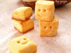簡単☆さつまいものキューブクッキー。の画像