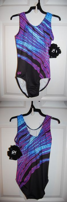Youth 159170: Gk Elite Gymnastics Leotard - Adult Medium - Purple Blue -> BUY IT NOW ONLY: $33.5 on eBay!