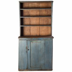 Check out the deal on Blue Stepback Cupboard at Eco First Art