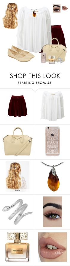 """""""Medieval cutie"""" by catty-glitter-girl on Polyvore featuring Michael Kors, Givenchy, Rifle Paper Co, ASOS and Diba"""