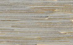 Wallpaper Accent Wall - Grasscloth Wallpaper in Metallic and Off-White design by Seabrook Wallcoverings - Wildas Wallpaper World Embossed Wallpaper, Striped Wallpaper, Modern Wallpaper, Wallpaper Roll, Grass Cloth Wallpaper, Wallpaper Ideas, Gold Textured Wallpaper, Beachy Wallpaper, Neutral Wallpaper