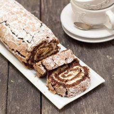 Glutenfri rulltårta Gluten Free Cakes, Gluten Free Recipes, Baking Recipes, Cake Recipes, Dessert Recipes, Healthy Recipes, Bagan, Grandma Cookies, Swedish Recipes