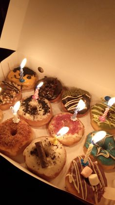 Happy 20th Birthday, Snapchat Stories, Food Snapchat, Baby Cats, A3, Birthday Candles, Donuts, Foodies, Happiness