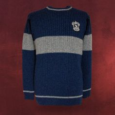 Harry Potter - Quidditch Sweater Ravenclaw I would literally adore ANYTHING Ravenclaw!